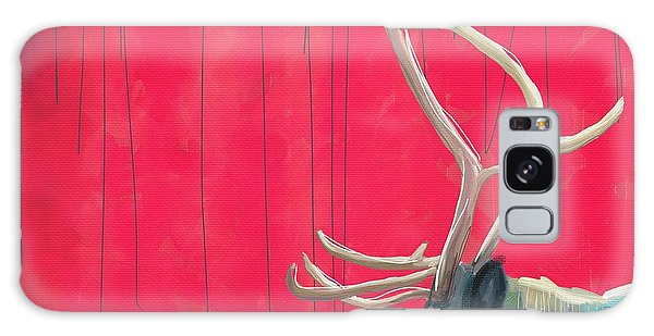 Holiday Galaxy Case - Quiet Reindeer by Cathy Walters