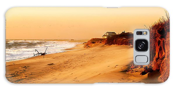 Quiet Summer Sunset Galaxy Case by Sabine Jacobs