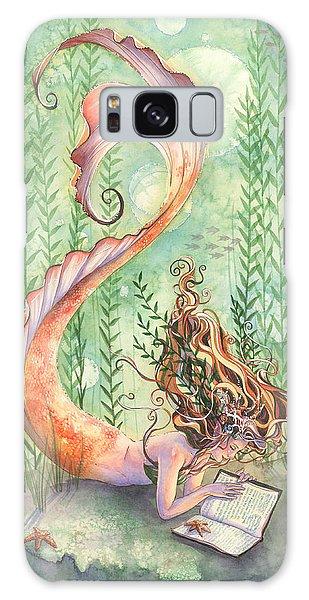 Goldfish Galaxy Case - Quiet Time by Sara Burrier