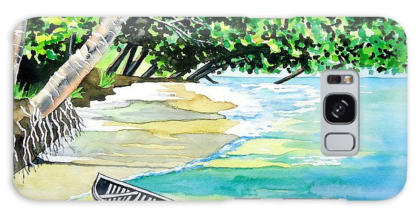 Quiet Waters In Paradise Galaxy Case