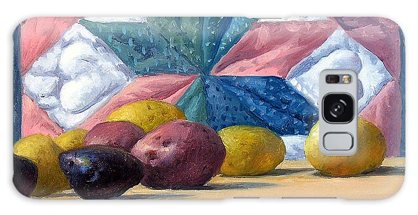 Potato Galaxy Case - Quilt And Potatoes by Armand Cabrera