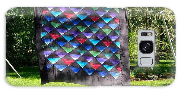 Quilt Top In The Breeze Galaxy Case