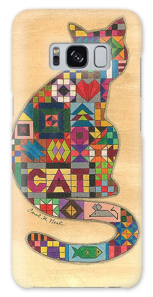 Quilted Cat Galaxy Case