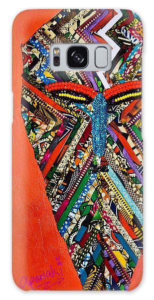Quilted Warrior Galaxy Case by Apanaki Temitayo M