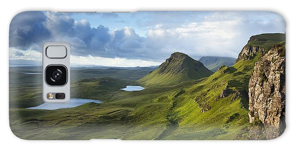 Quiraing Dawn Galaxy Case