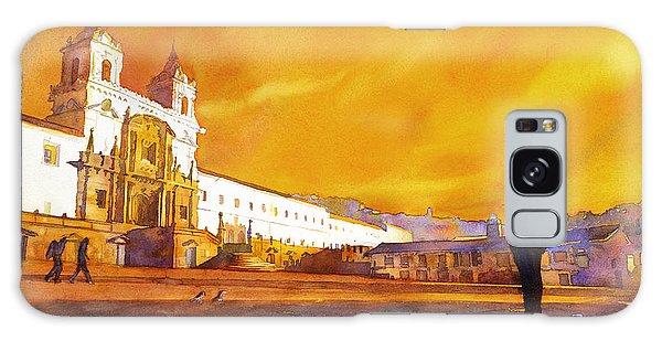 Quito Sunrise Galaxy Case