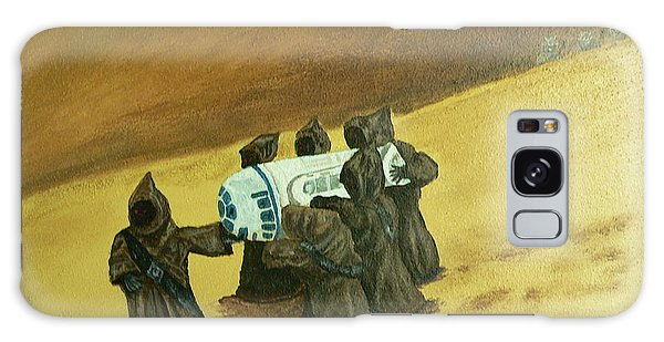R2d2 And Jawas Galaxy Case by Dan Wagner