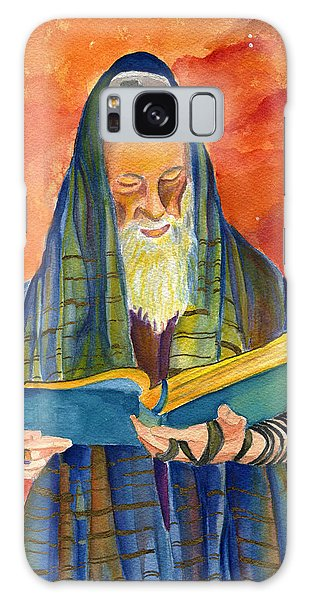 Rabbi I Galaxy Case by Dawnstarstudios