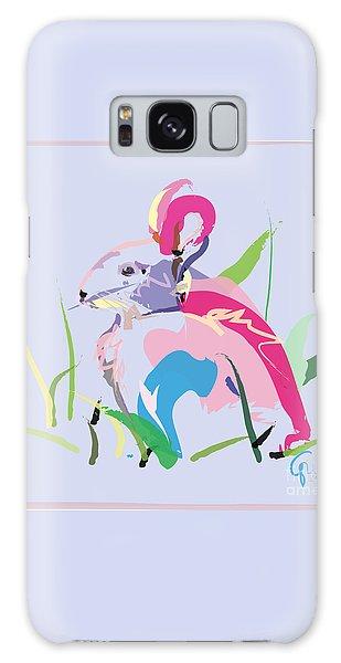 Rabbit - Bunny In Color Galaxy Case