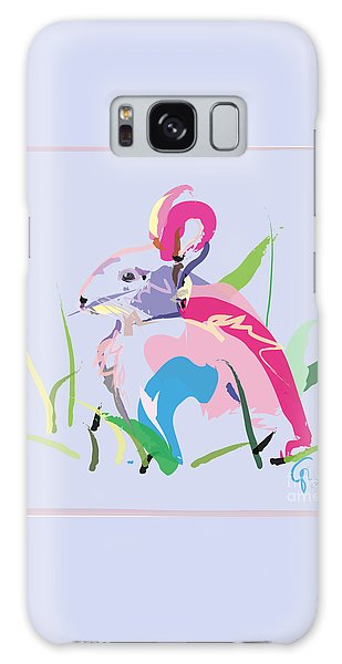 Rabbit - Bunny In Color Galaxy Case