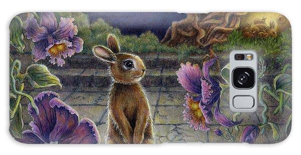 Rabbit Dreams Galaxy Case