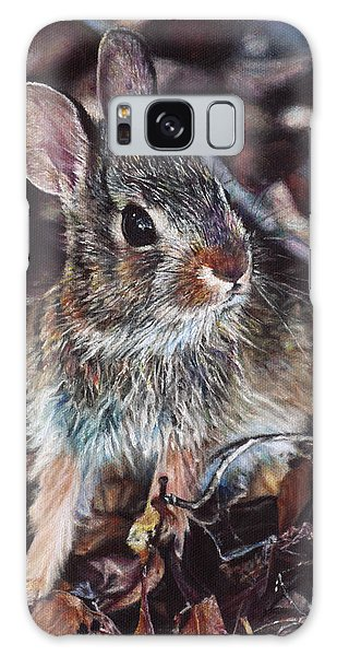 Rabbit In The Woods Galaxy Case