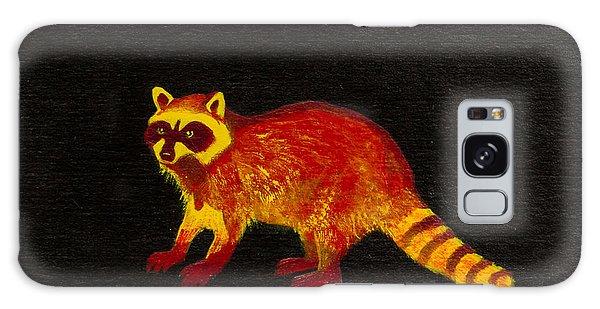 Raccoon Galaxy Case by Stefanie Forck