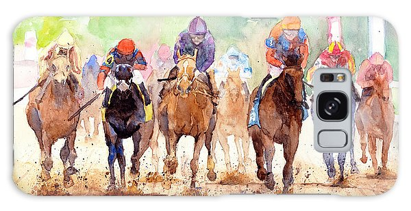 White Horse Galaxy Case - Race Day by Max Good