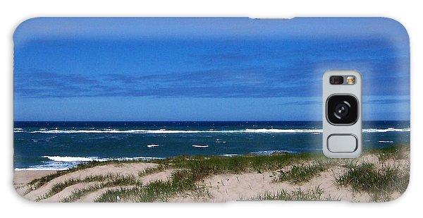 Race Point Beach Galaxy Case by Catherine Gagne