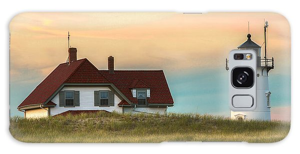 Race Point Light At Sunset Galaxy Case