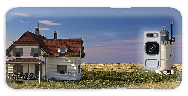 Race Point Lighthouse In Summer Galaxy Case