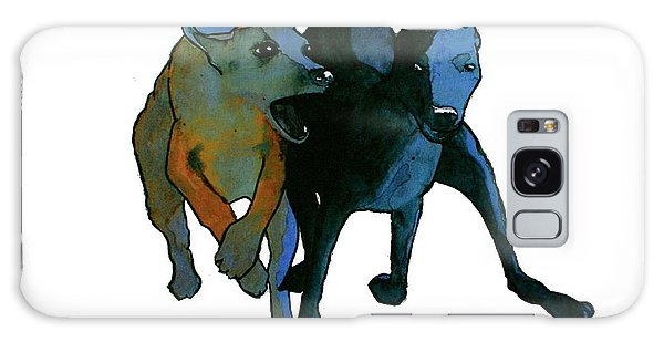 Sighthound Galaxy Case - Race by Richard Williamson