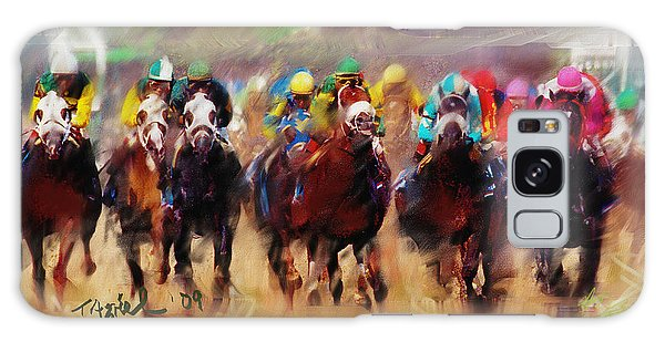 Race To The Finish Line Galaxy Case
