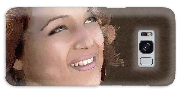 Rachel Weisz #1 Galaxy Case