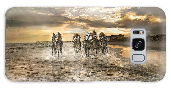 Whip Galaxy Case - Racing Down The Stretch by Betsy Knapp