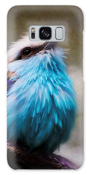 Racket-tailed Roller Galaxy Case by Ron Grafe