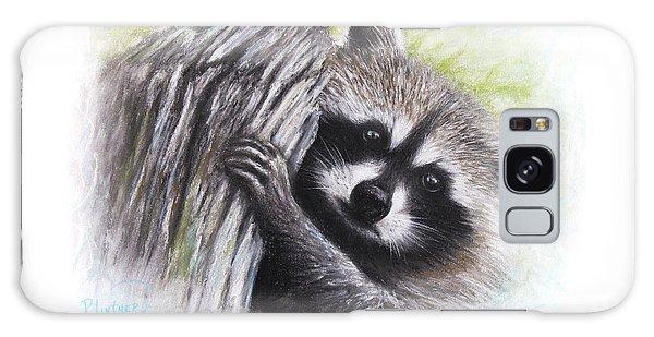 Raccoon  Galaxy Case by Patricia Lintner