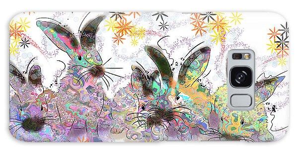 Rad Rabbits Galaxy Case