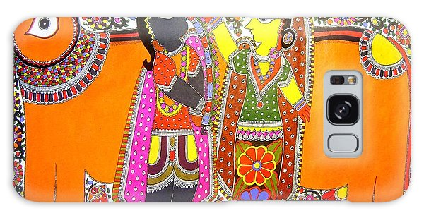 Radha And Krishna Galaxy Case