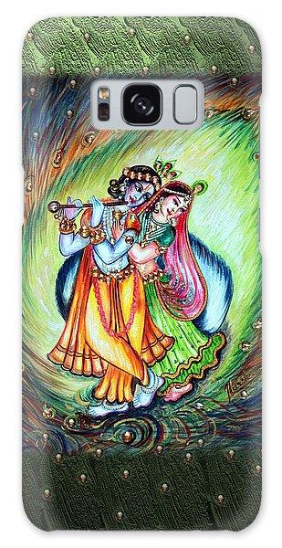 Radha Krishna Galaxy Case