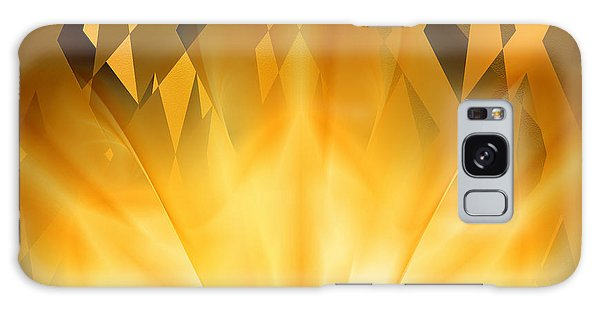 Radiant Gold Galaxy Case by rd Erickson