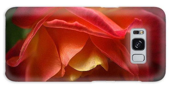 Radiant Rose Galaxy Case