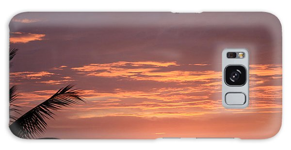 Radiant Sunset 2 Galaxy Case by Karen Nicholson