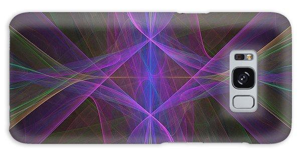 Radiant Veils Galaxy Case by Ursula Freer