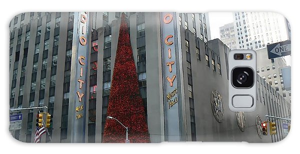 Radio City Christmas Galaxy Case by Michael Porchik