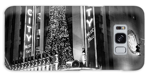 Radio City New York Galaxy Case by Dave Beckerman
