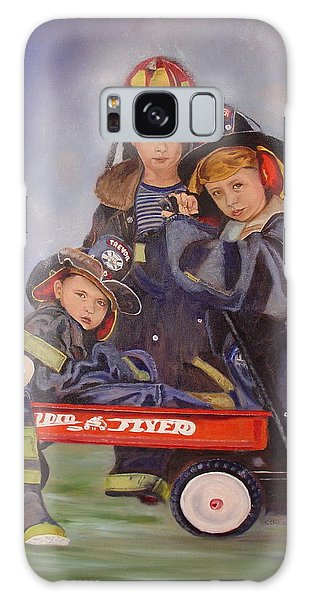 Radio Flyer Galaxy Case by Sharon Schultz