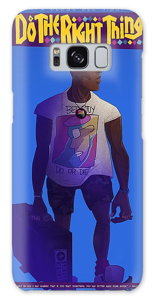 Radio Raheem Galaxy Case