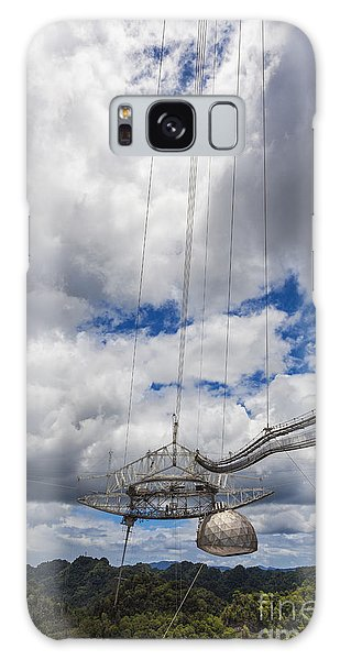Radio Telescope At Arecibo Observatory In Puerto Rico Galaxy Case