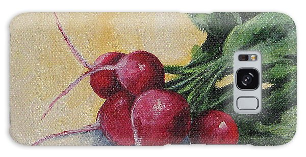 Radishes Galaxy Case by Torrie Smiley