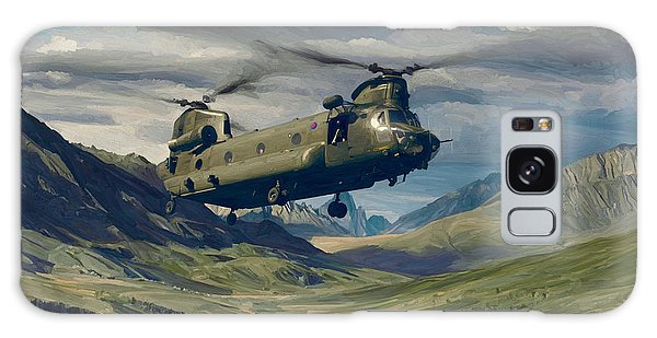 Raf Chinook Ch-47 On Exercise Galaxy Case