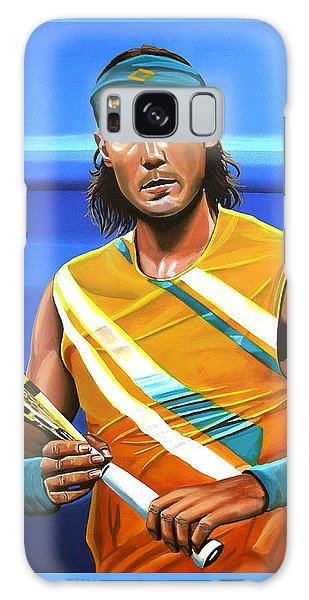 Sportsman Galaxy Case - Rafael Nadal by Paul Meijering