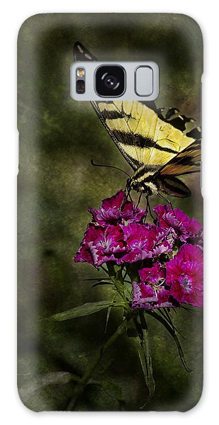 Galaxy Case featuring the photograph Ragged Wings by Belinda Greb