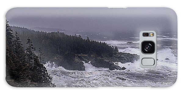 Raging Fury At Quoddy Galaxy Case by Marty Saccone