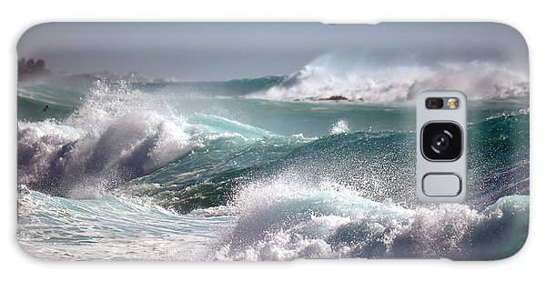 Raging Waters Galaxy Case by Lori Seaman