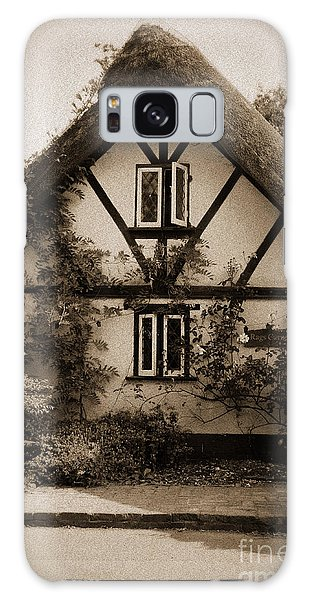 Rags Corner Cottage Nether Wallop Olde Sepia Galaxy Case