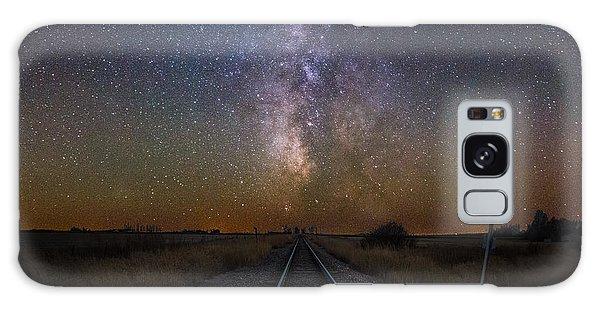 Railroad Crossing Galaxy Case
