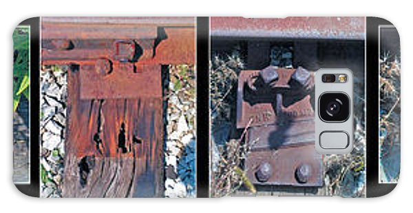Railroad Ties Galaxy Case by The Art of Marsha Charlebois