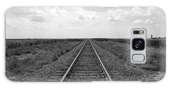 Railroad Tracks Galaxy Case