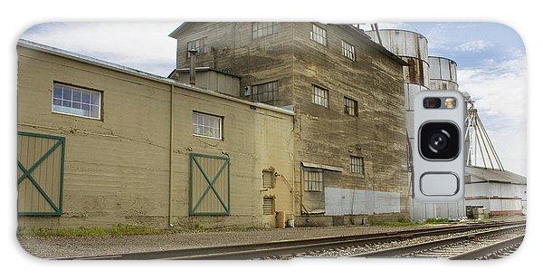 Railway Mill Galaxy Case by Sonya Lang